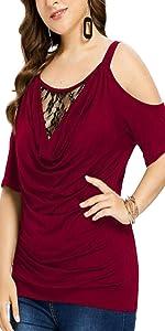 NEYOUQE Womens Oversized tees Shirts for Women Short Sleeve t Shirt Tops S-5XL