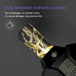 Fully enclosed hydraulic cylinder