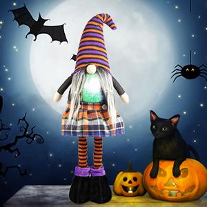 Halloween Gnome Plush