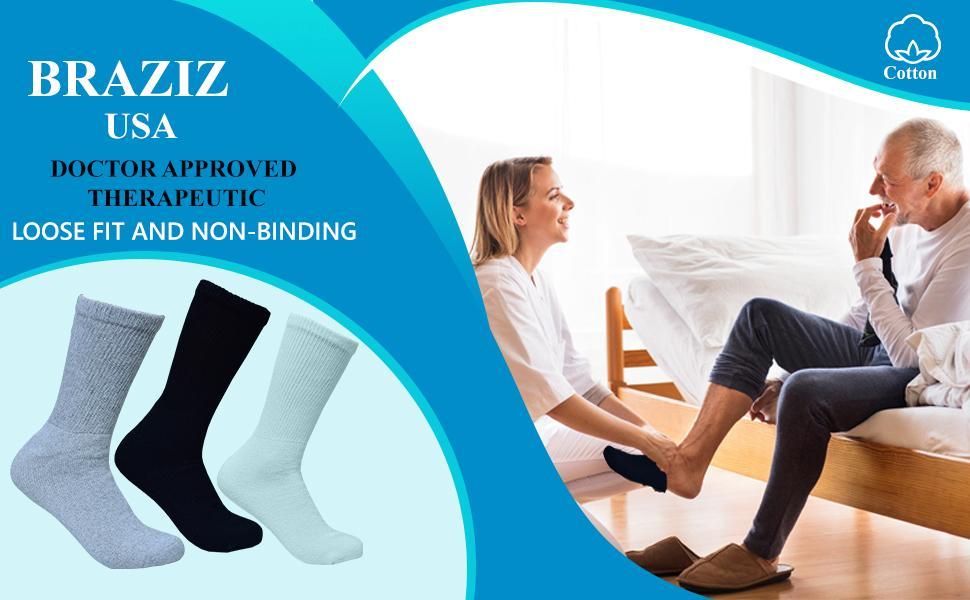diabetic socks for men 10-13