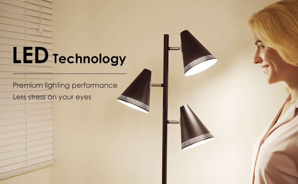 Innovative lighting with LED