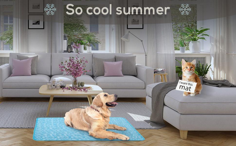 dog cool mat