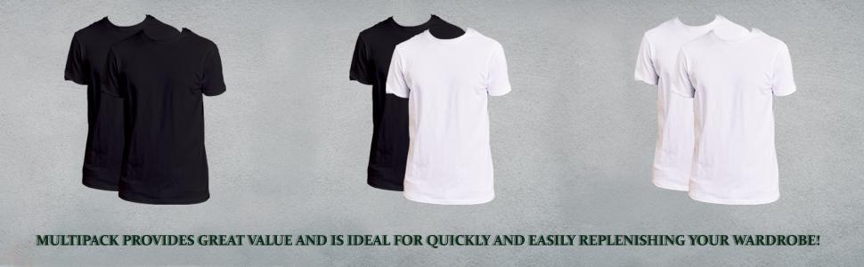 mens black t shirts