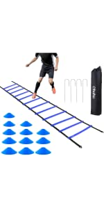 blue agility set