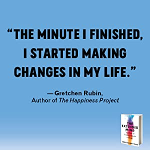 the minute I finished, I started making changes in my life.