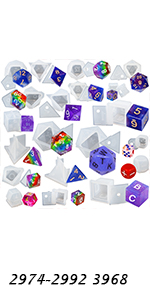 Resin Dice Molds