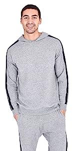State Fusio Men's Wool Cashmere Loungewear Sweatshirt Hoodie