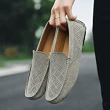 Breathable penny flat loafer shoes