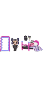 LOL Surprise Furniture Series 4 Cozy Zone with Dusk Doll