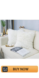 faux fur sheepskin rabbit area rug rectangle rugs pillow covers cases 2 pieces