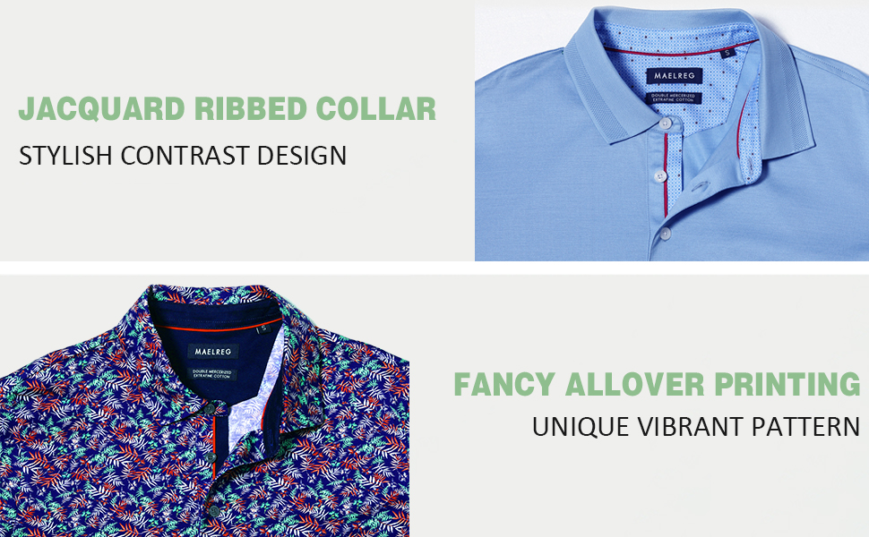 COLLARED SHIRTS FOR MEN