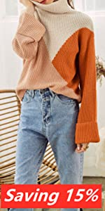 Womenamp;#39;s Long Sleeve Turtleneck Sweater