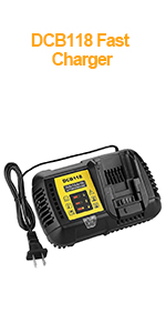 DCB118 BATTERY CHARGER
