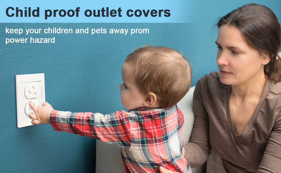 Child proof outlet covers