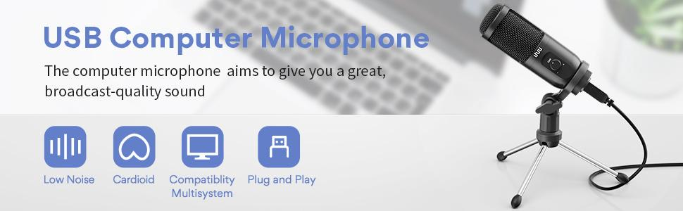 USB Computer Microphone