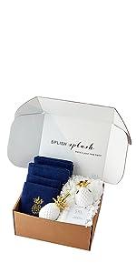 SKL Home Gilded Pineapple Full Bath Splash Box