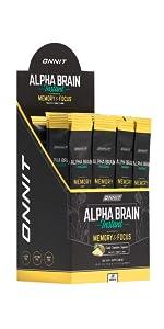 Onnit Alpha Brain Instant Nootropic Brain Supplement