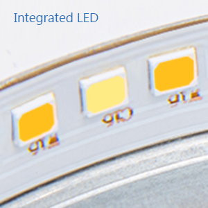 Integrated led ceiling light