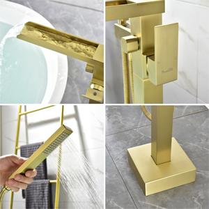 gold tub faucet