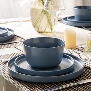 Dinner plates dinnerware set kitchen dished Salad plates desert