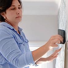 applying removable wallpaper