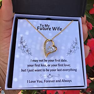 Future Wife Necklace Gift Set