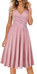 summer dress for women casual dresses holiday beach sundress floral vintage dress party tea dresses