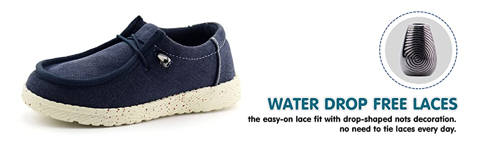 water drop free laces