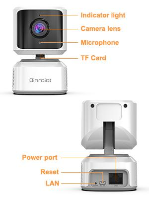 Qinroiot Home Indoor Security Camera
