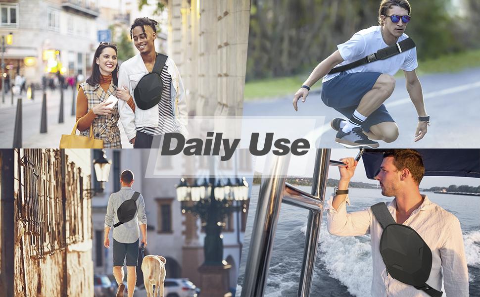 Daily Use Crossbody Sling Bag