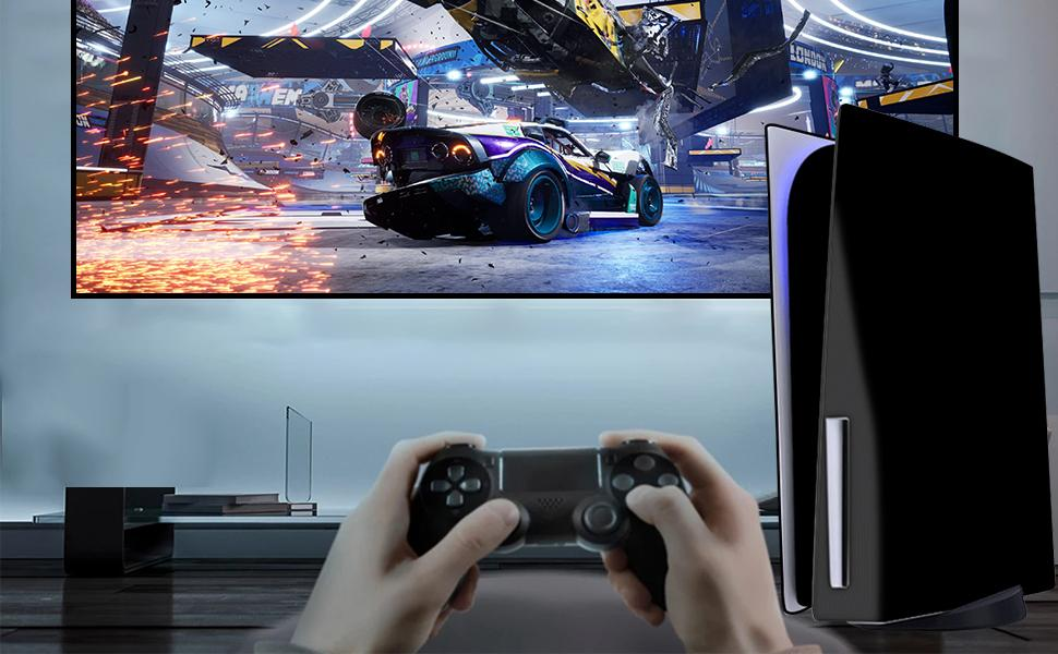 PS5 console silicone skin cover  PS5 console protective cover  soft PS5 skin cover shell