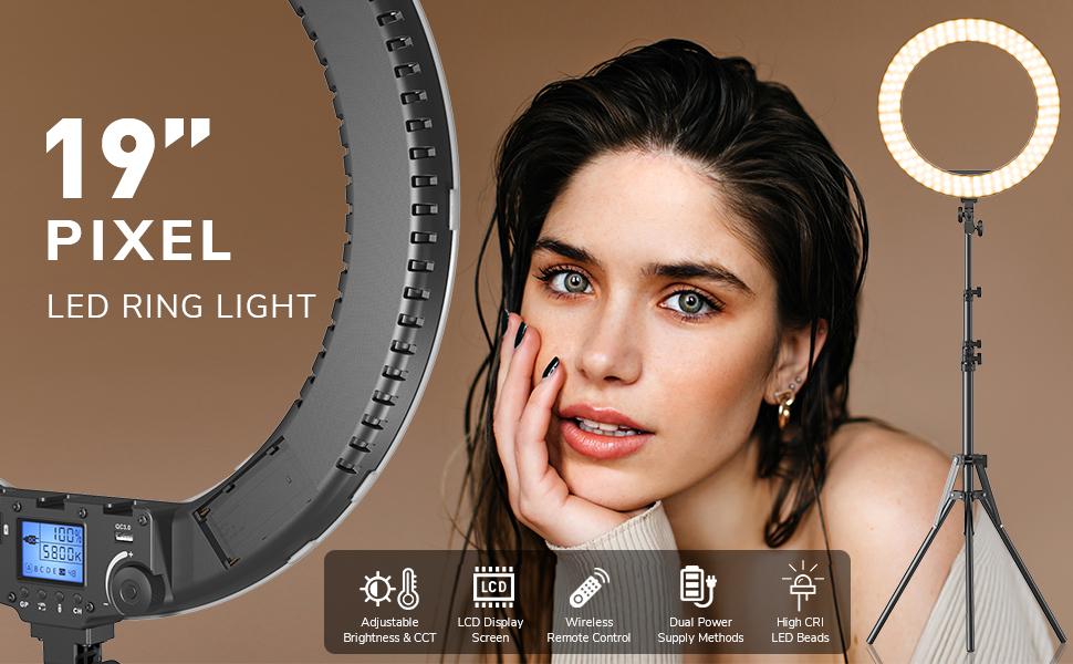 PIXEL 19inch ring light kit