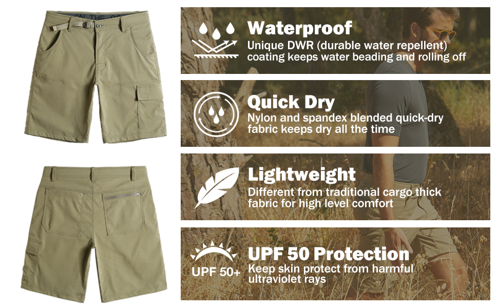 mens hiking shorts men mens cargo shorts for men tactical shorts for men mens fishing shorts for men