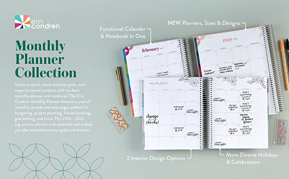 Monthly Planner Collection