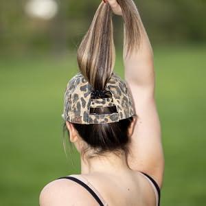 Back of cheetah hat