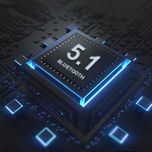 Oreillette Bluetooth 5.1 Intra Auriculaire