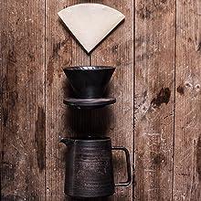 coffee maker dripper and pot