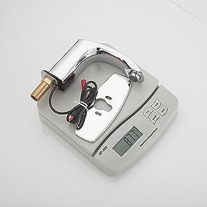Automatic Sensor Touchless Bathroom Sink Faucet Commercial Hands Free Bathroom Tap Chrome