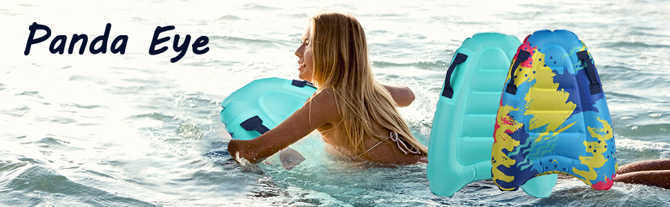 bodyboard slip and slide boogie boards big for beach inflatable water pool  tubes for floating surf