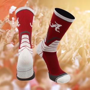 Alabama Victory Crimson Roll Tide Socks football