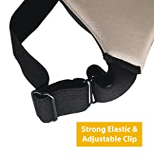 Strong Elastic and Adjustable Clip