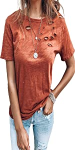 short sleeve blouses for women