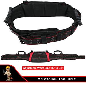 adjustable waist work belt