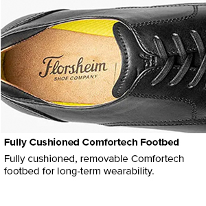 Fully Cushioned Comfortech Footbed