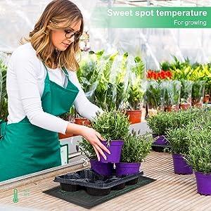 garden heating pad