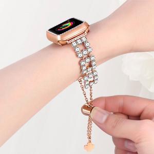 Rose Gold Bling bracelet band for Apple watch