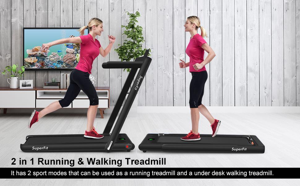 2 in 1 underdesk treadmill