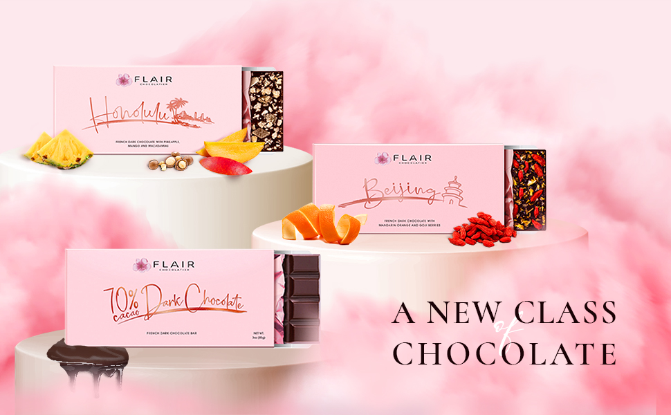 French Dark Chocolate Set