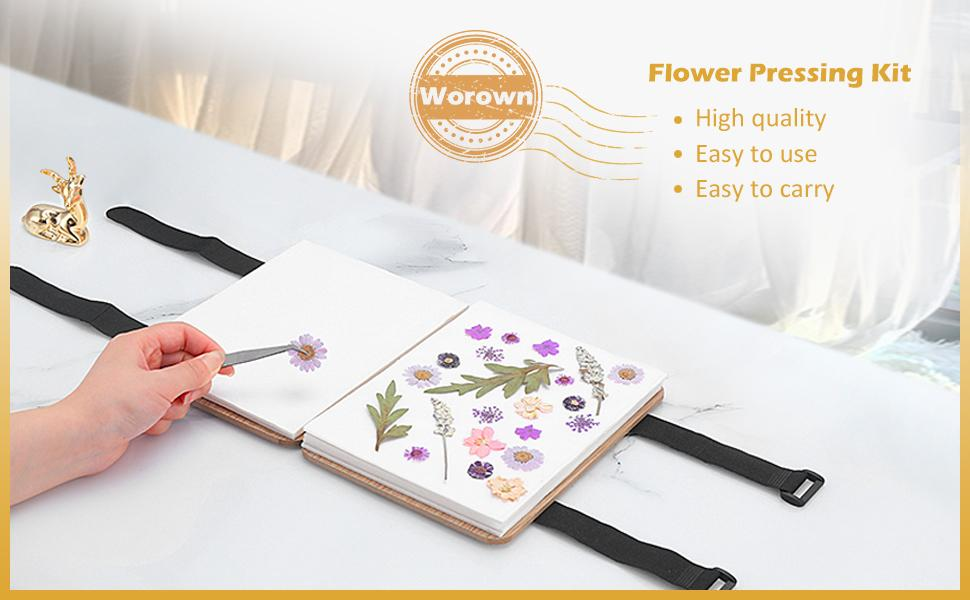 Flower Pressing Kit Flower press flower press for kids flower press for adults