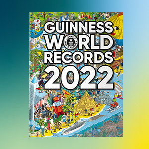 Front cover of Guinness World Records 2022